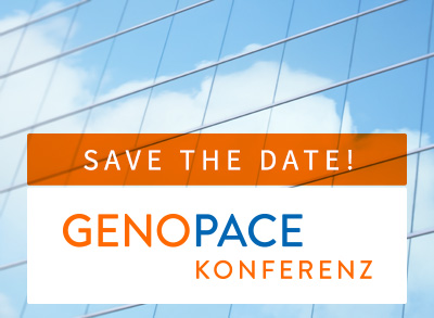 Save the date 10. GENOPACE-Konferenz